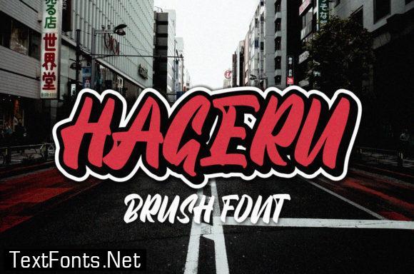 Hageru Font