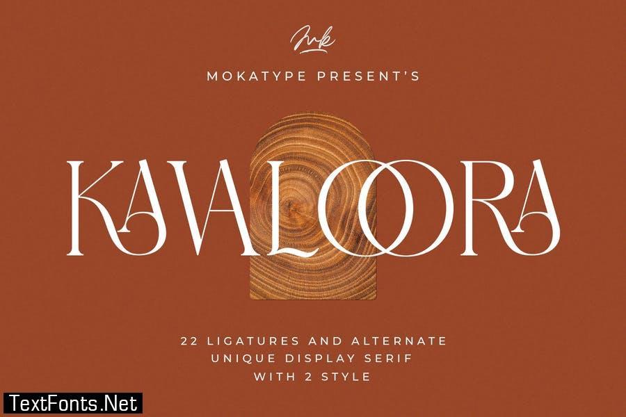 Kavaloora - Stylish Ligatures