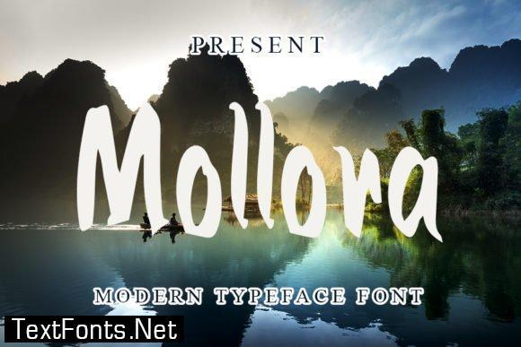 Mollora Font