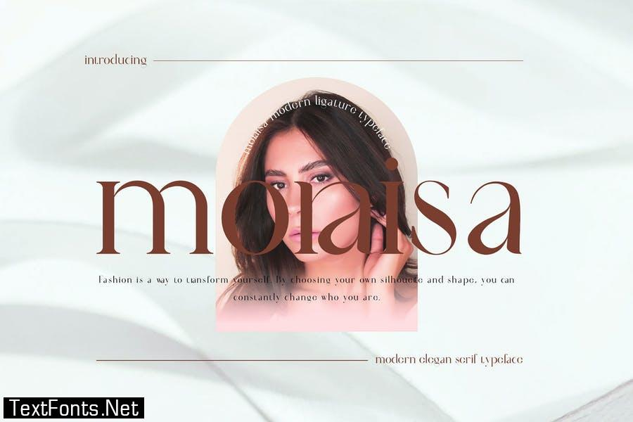moraisa Ligature Serif Font