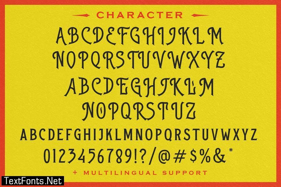 Native Roast Font
