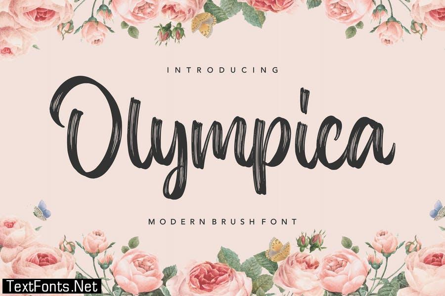 Olympica Brush Font YH