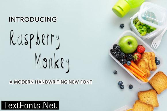 Raspberry Monkey Font