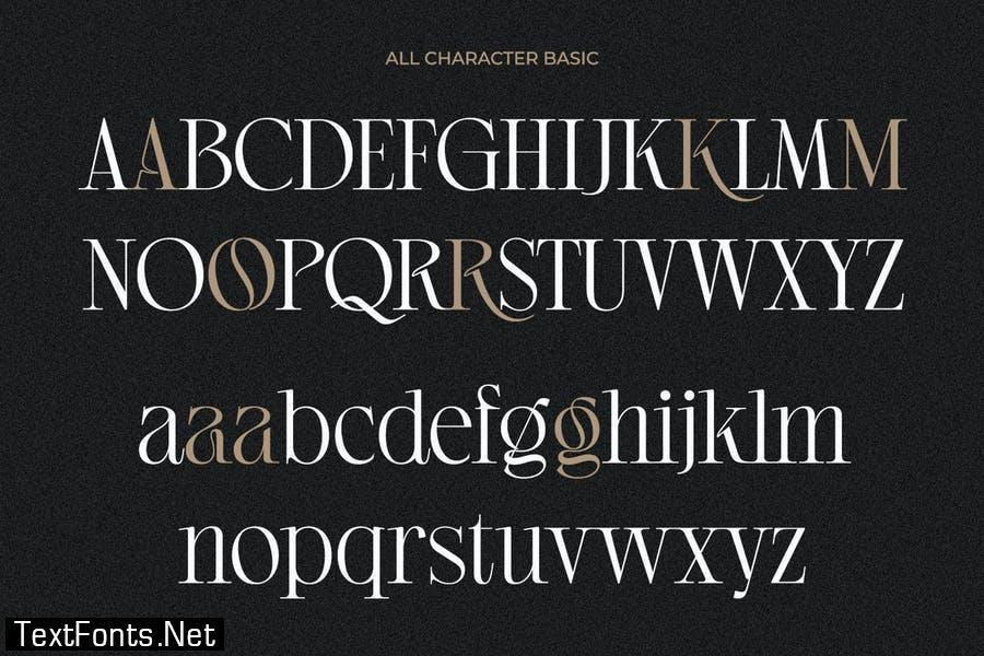 Regista Grande - Modern Display Serif Font