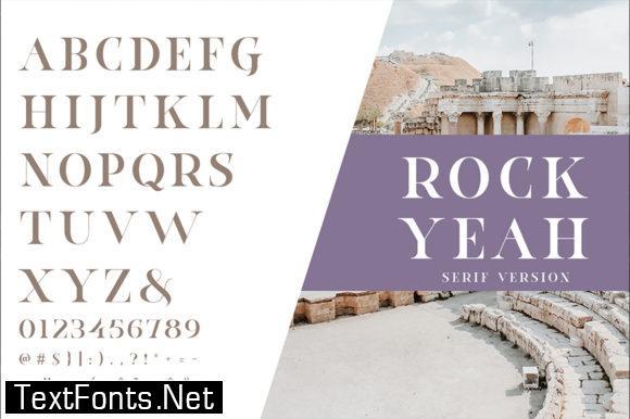 Rockyeah Font