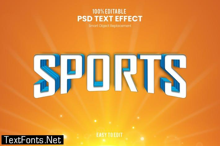 Sports - Sporty PSD Text Effect K2FZCLE