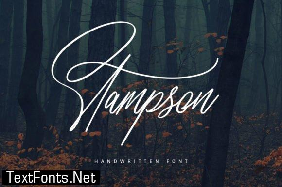 Stampson Font