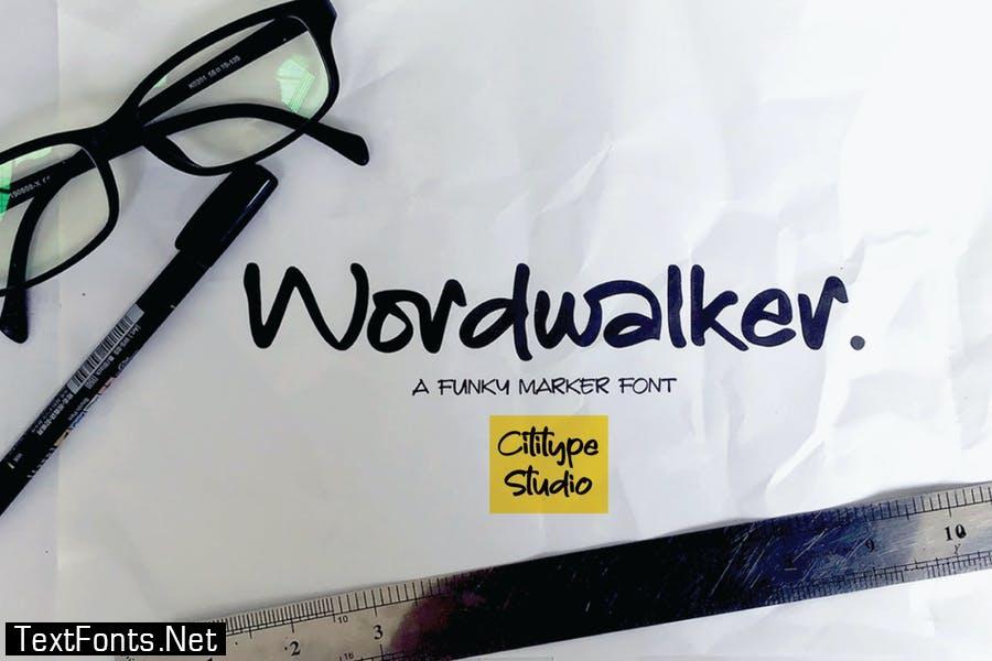 Wordwalker Font
