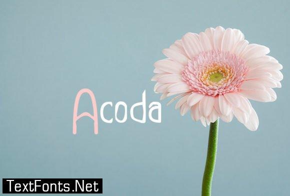 Acoda Font