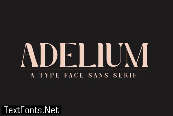Adelium Font