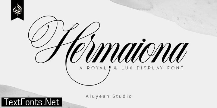 AL Hermaiona Font Family