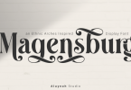Al Magensburg Font Family