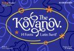 AMR Kovanov - Latin Serif Family