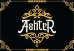 AshteR Font