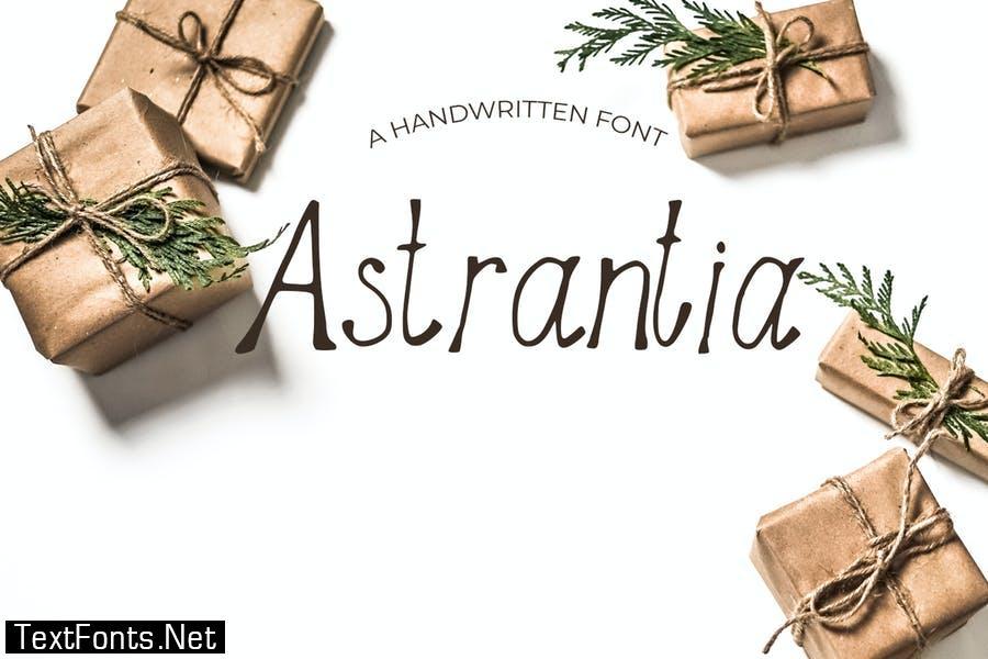 Astrantia Handmade Font