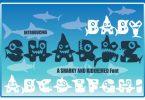 Baby Sharkz Font