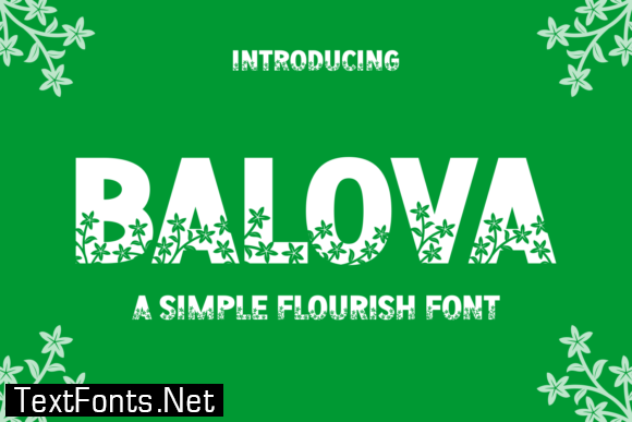 Balova Font