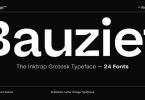 Bauziet Font Family
