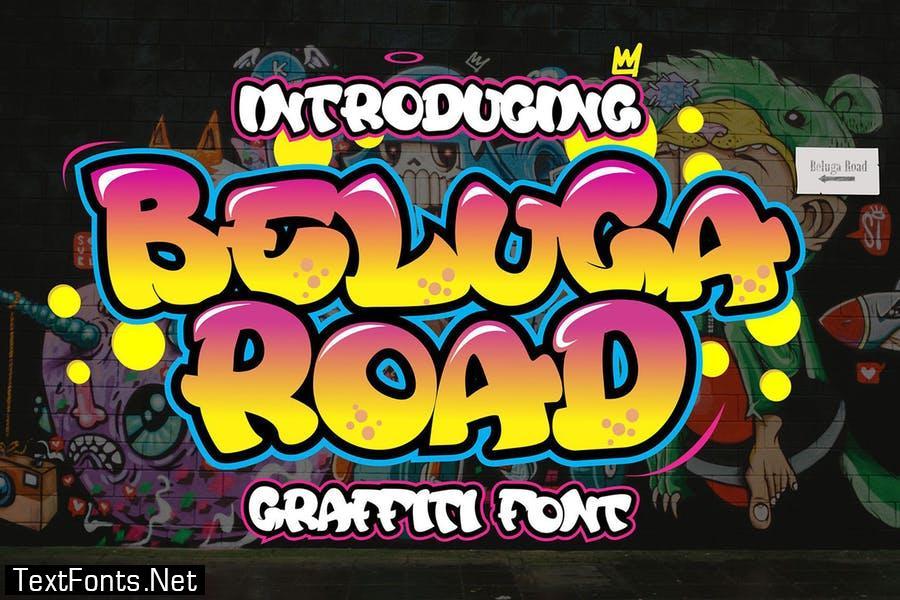 Beluga Road - Decorative Graffiti Font
