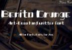 Benito Grunge Font
