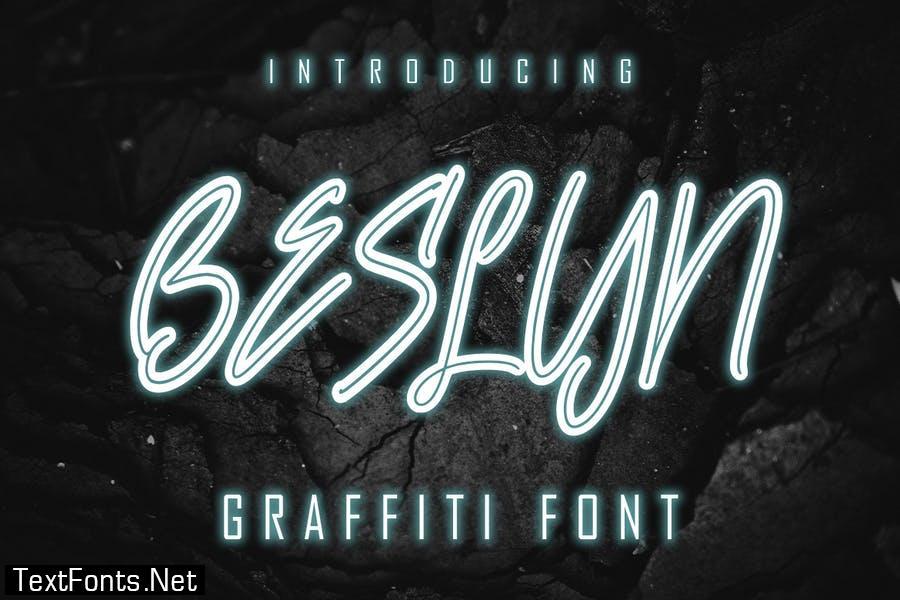 Beslyn - Graffiti Font