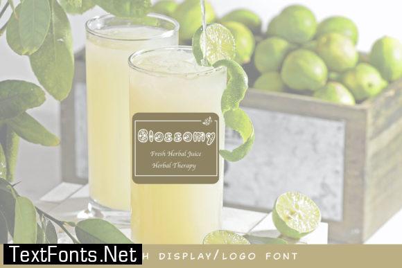 Blossomy Font