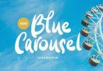 Blue Carousel Font