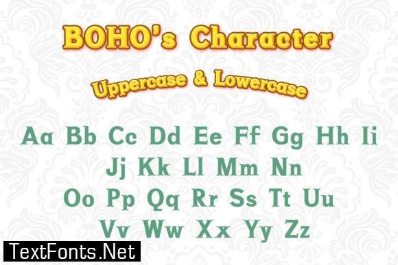 Boho Font