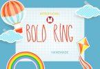 Bold Ring Font