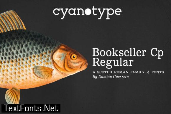 Bookseller Cp Regular Font