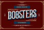 Boosters Font