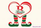 Brutus Elf Leg Monogram Font