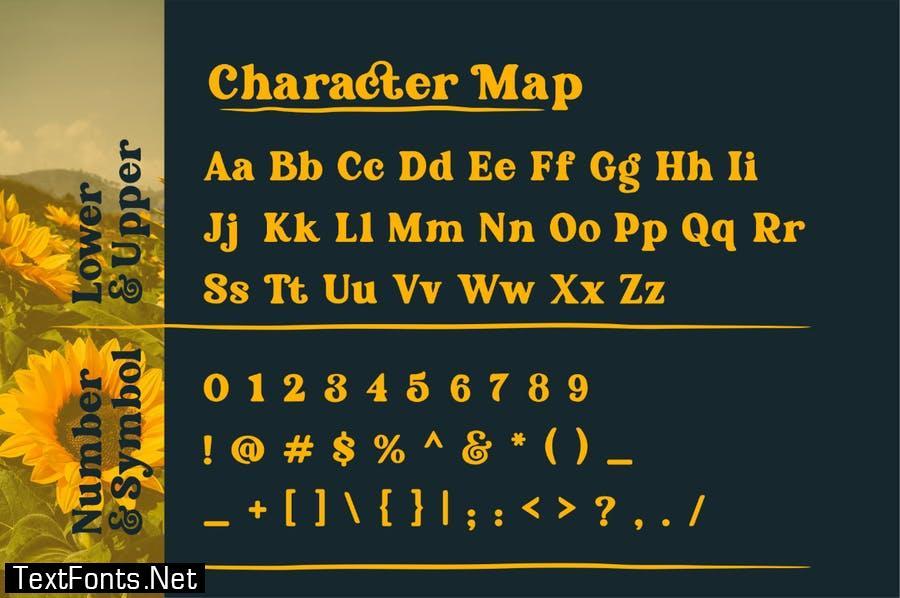 BS - Omari Elegant Font Serif