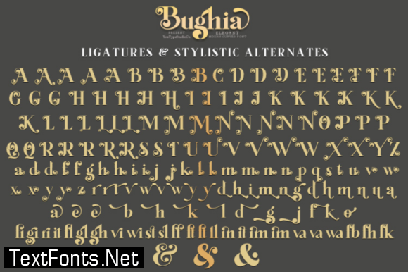Bughia Font