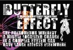 Butterfly Effect Font