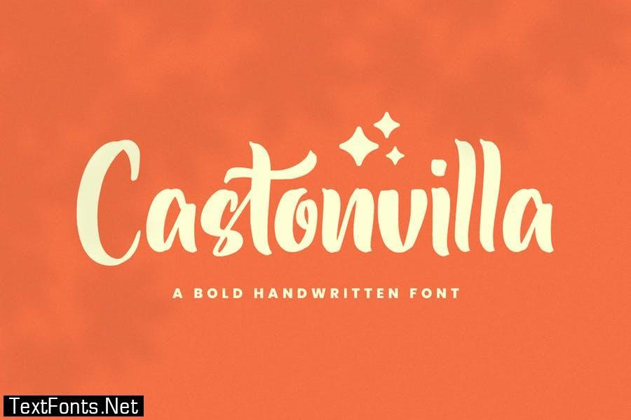 Castonvilla - Instagram Font