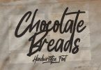 Chocolate Breads - Natural Brush Font