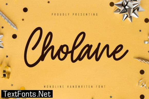 Cholane Font