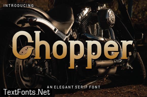 Chopper Font