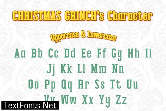 Christmas Grinch Font