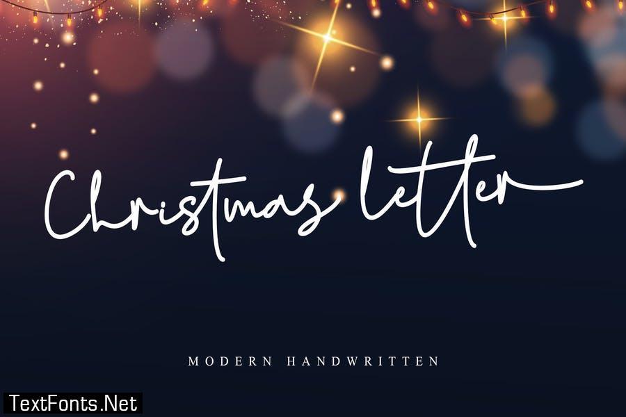 Christmas Letter Font