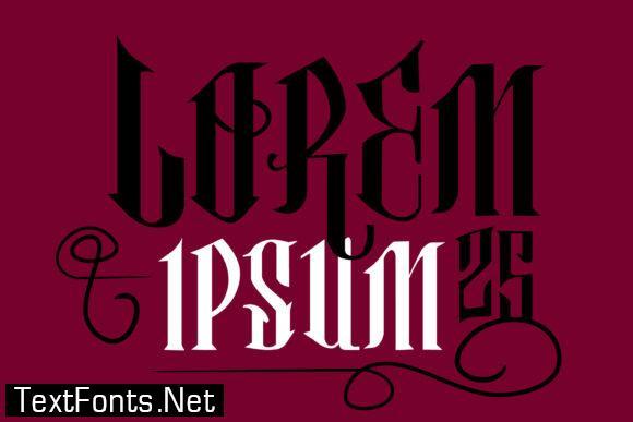 Classical Hit Font