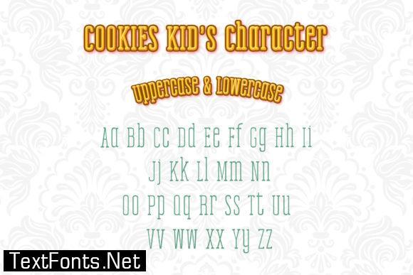 Cookies Kid Font