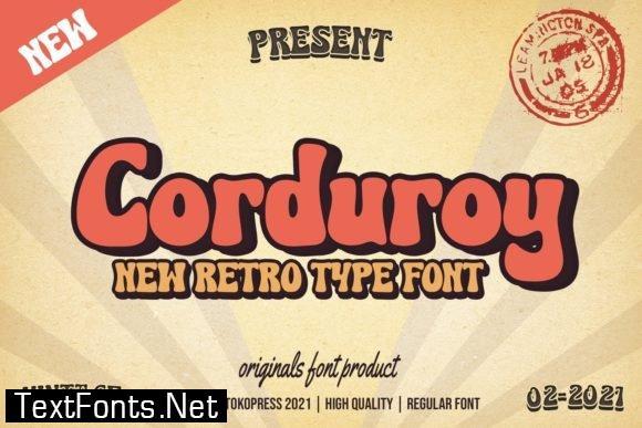 Corduroy Font
