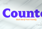 Counte Font Family
