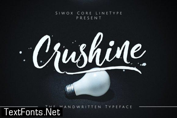 Crushine Font