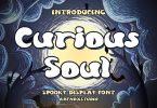 Curious Soul - Spooky Dislay Font