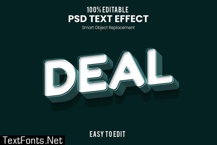 Deal - Fun 3d Text Effect