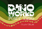 Dino World Trio Font