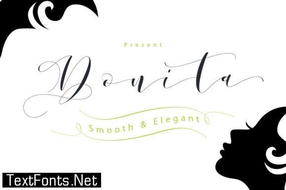 Donita Script Font